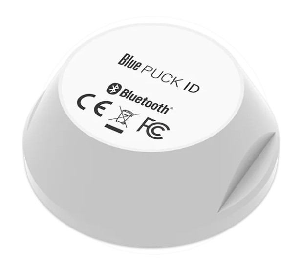 Bluetooth Low Energy Puck - digital input sensor - 500m range - waterproof - 15 year battery